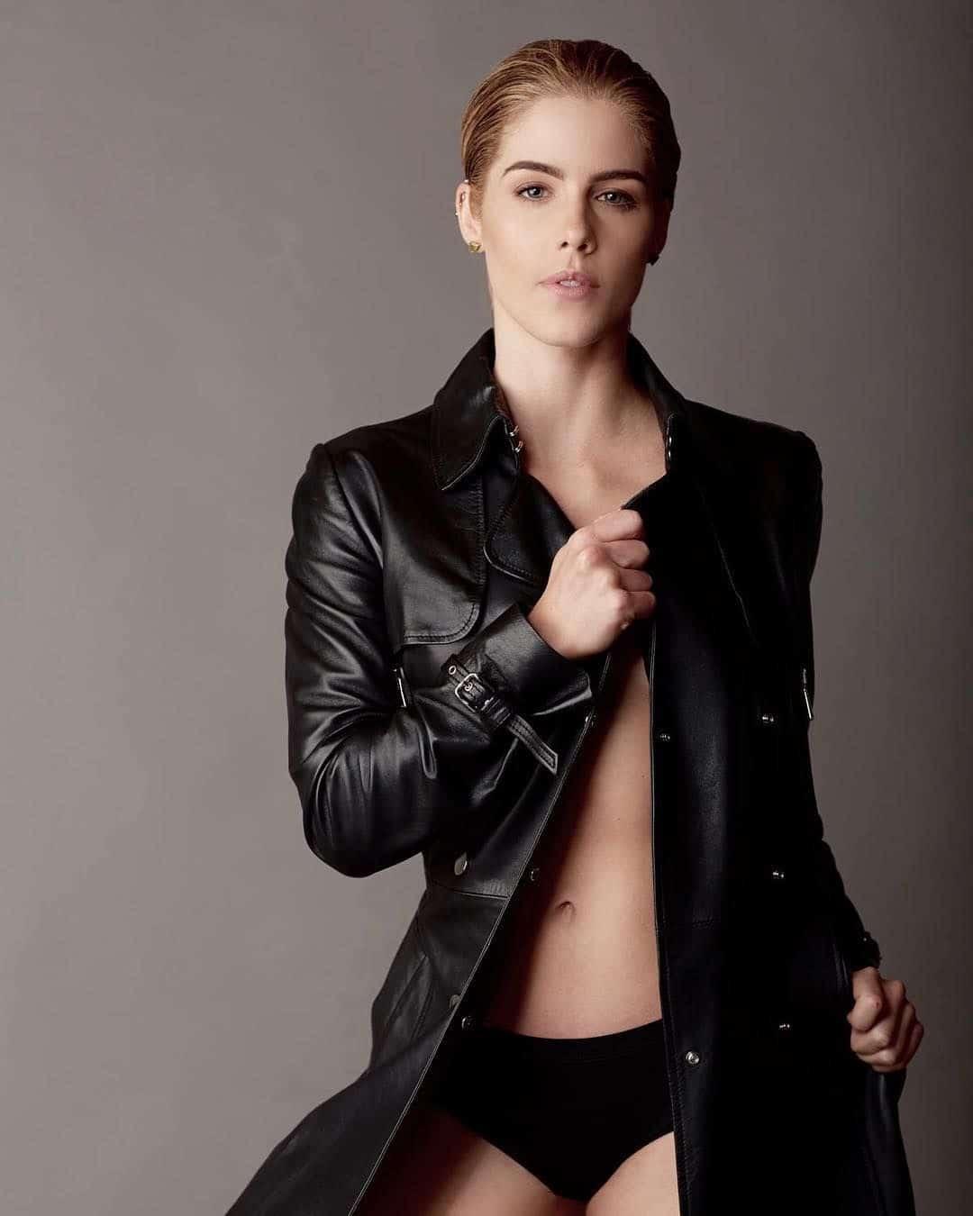 Emily Rickards booty