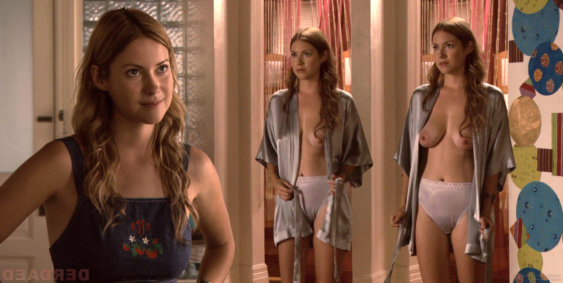 Laura Ramsey Nude Out Of Tub In Are You Here