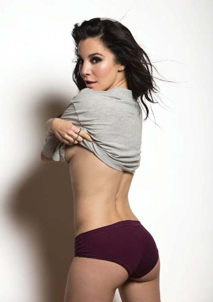 Martha Higareda boobs show