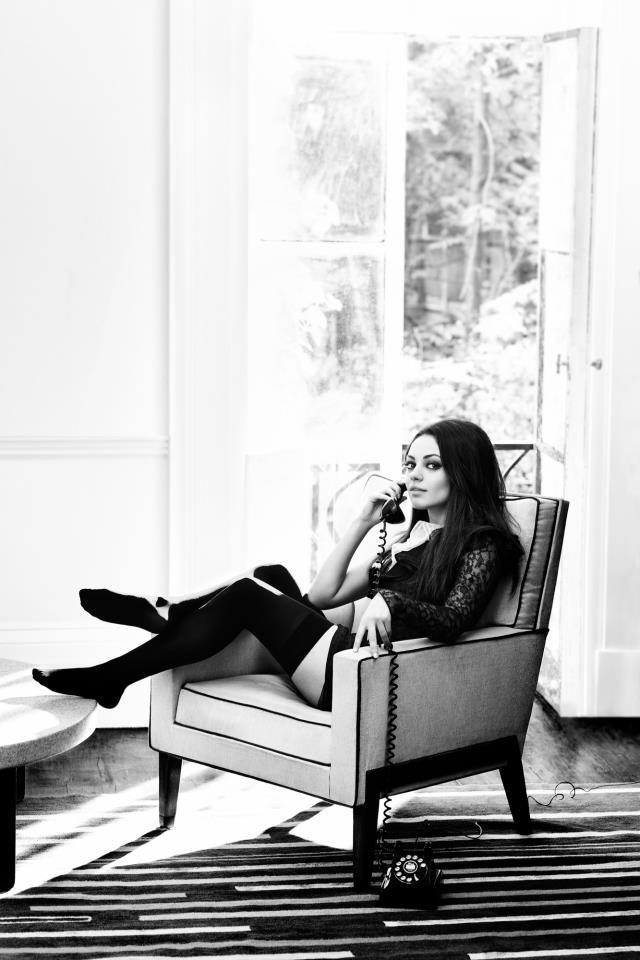 Mila Kunis sexy photoshoot