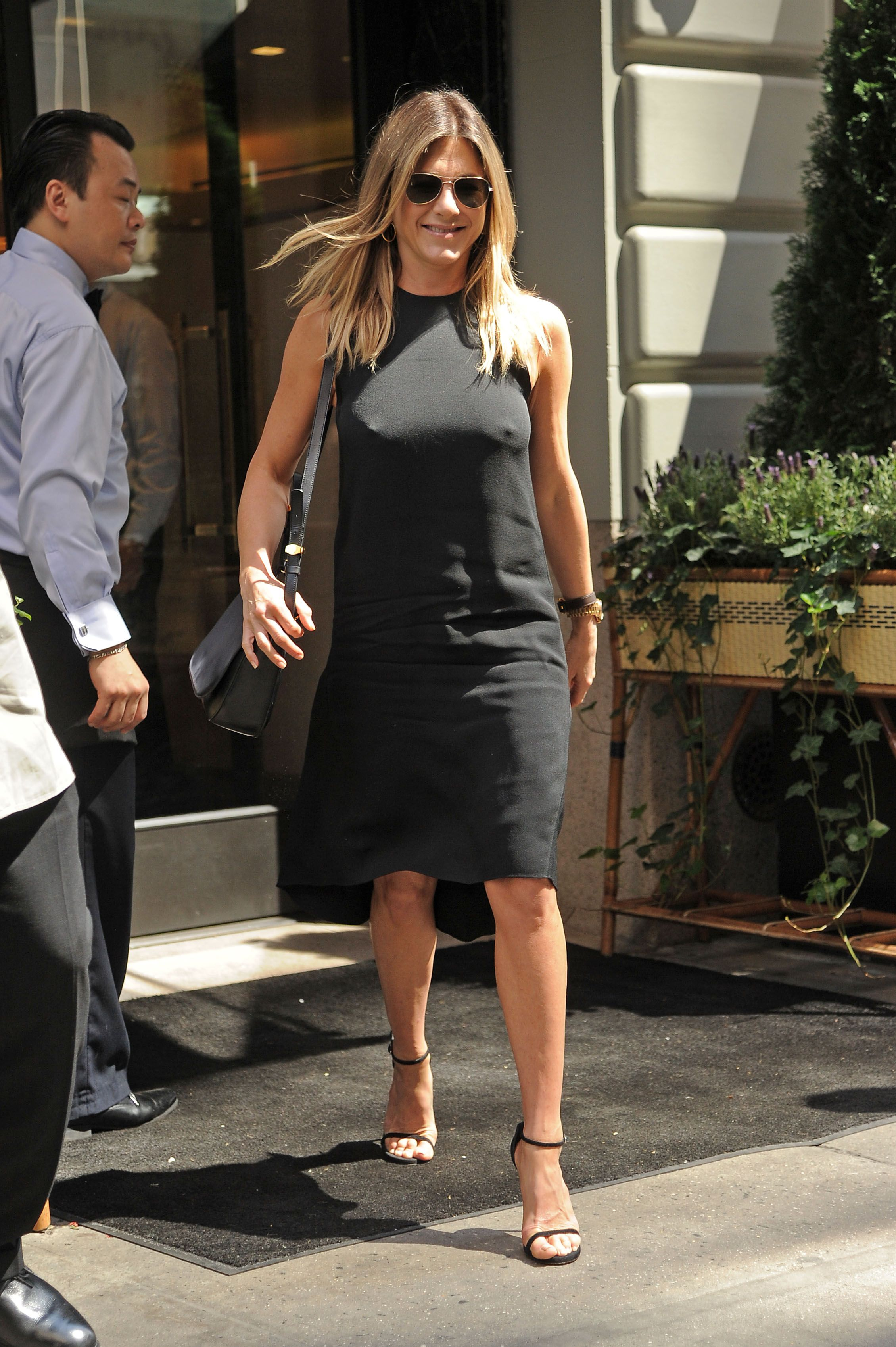 Jennifer Aniston doggy style