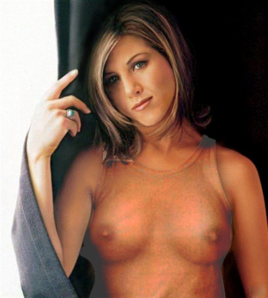 Nude jennifer aniston young