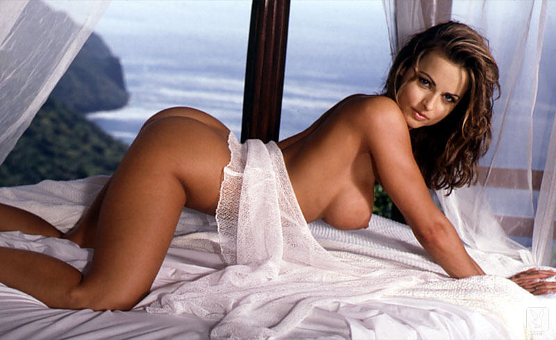 Karen McDougal boobs show