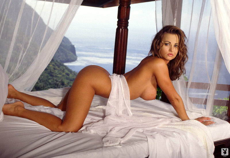 Karen McDougal naked boobs