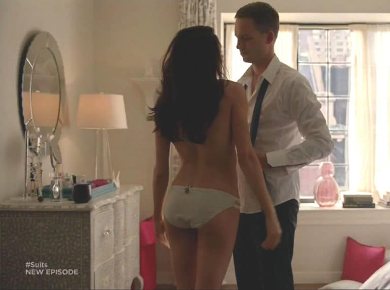 Meghan Markle topless scene from Suits