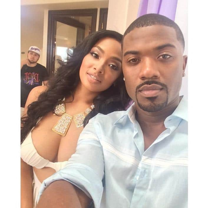 Teairra Mari and Ray J selfie