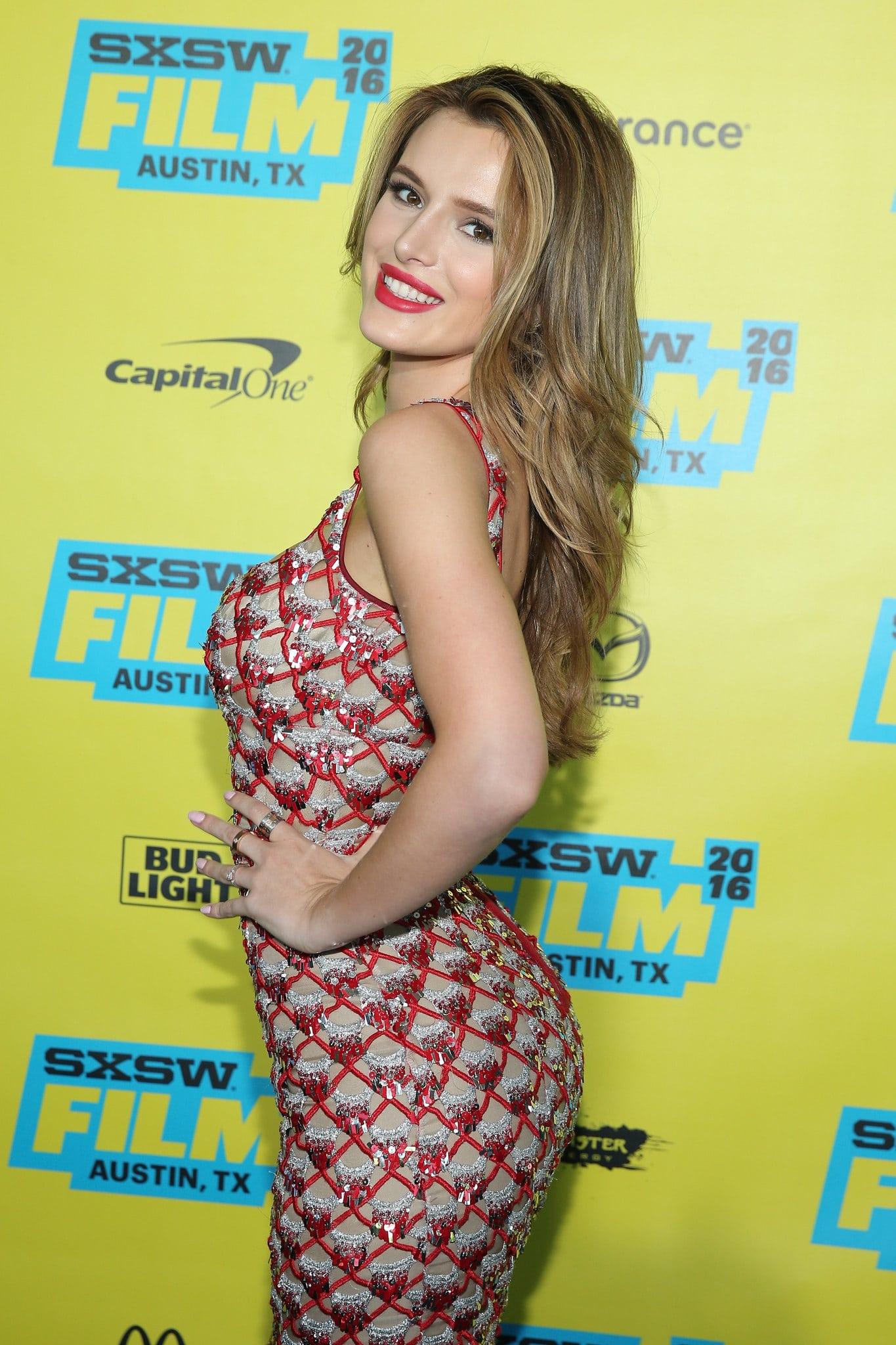 Bella Thorne posing