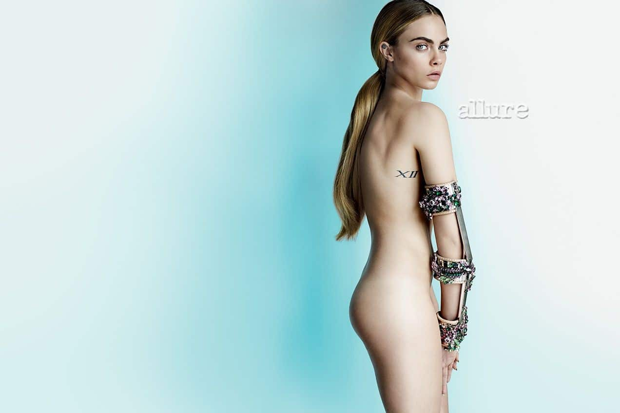 Cara Delevingne pussy showing