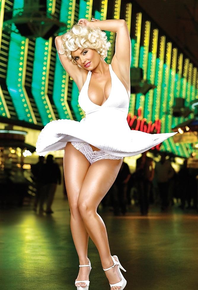 Coco Austin as Marilyn Monroe
