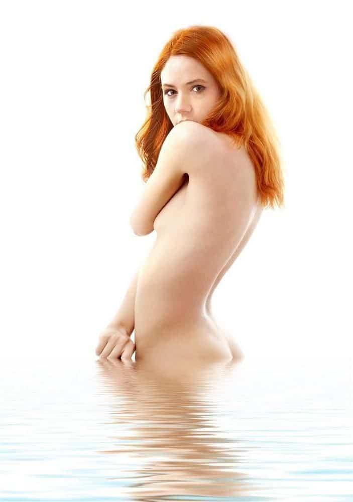 Karen Gillan topless picture