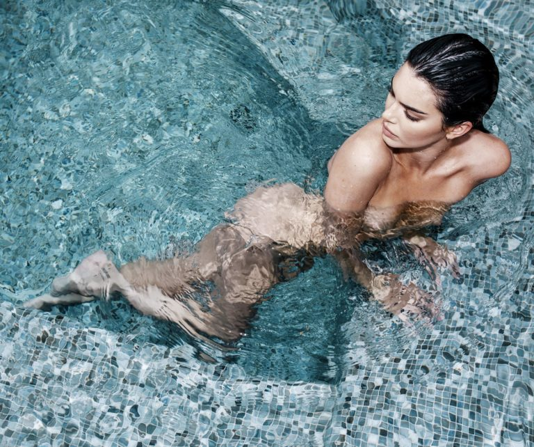 Kendall Jenner naked Russel James photoshoot