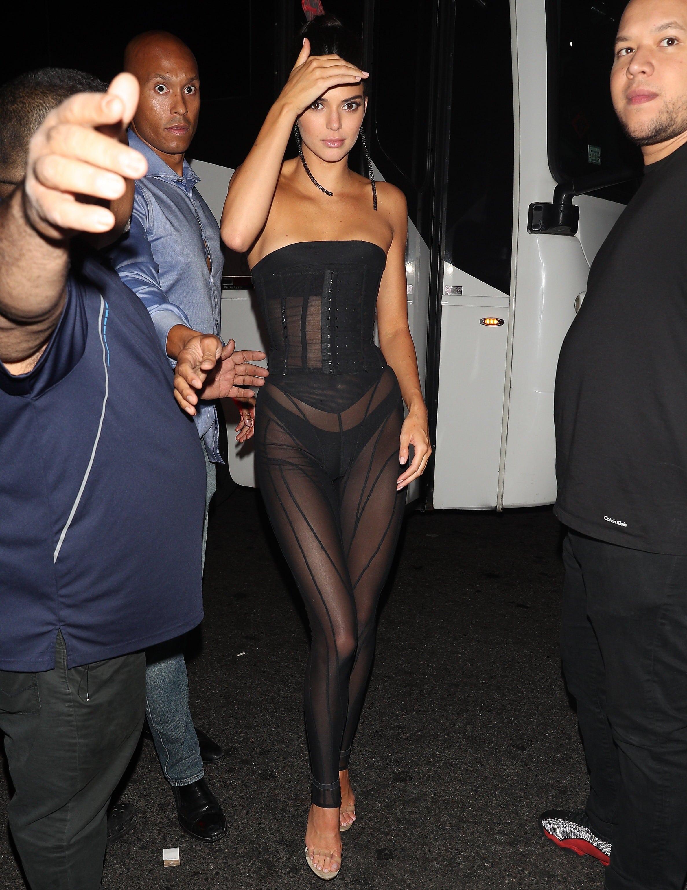 Kendall Jenner leaked naked