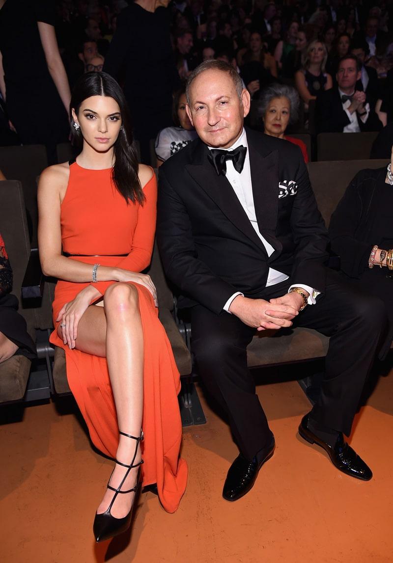 Kendall Jenner upskirt