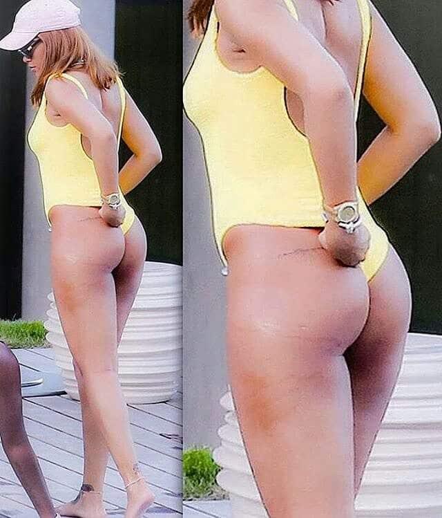 Rihanna fat ass