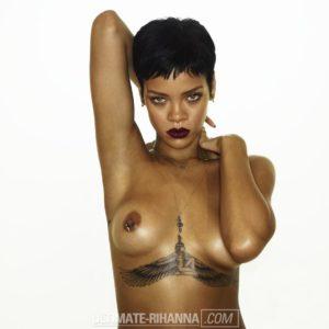 Rihanna sexy nude