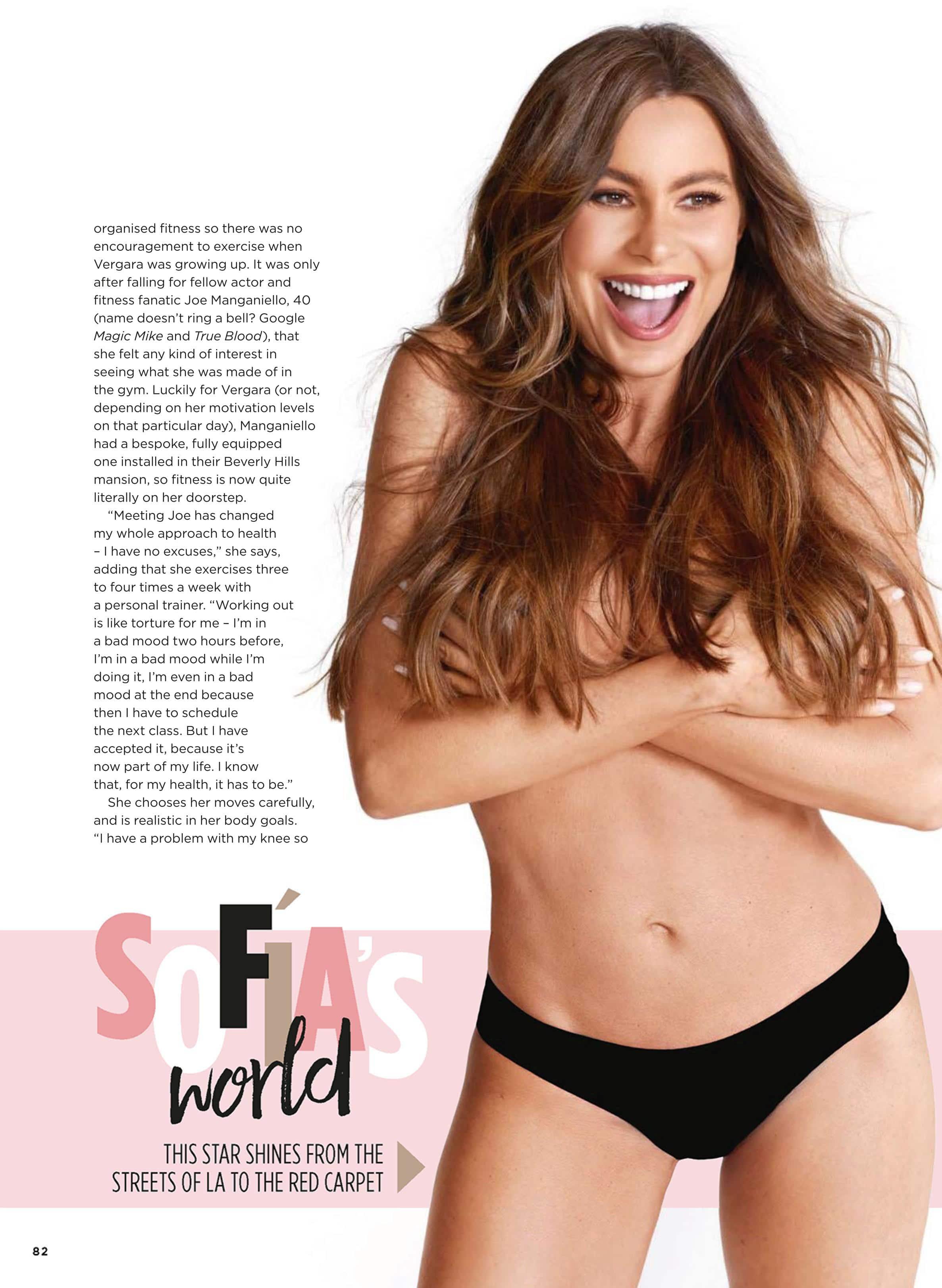 Sofia Vergara magazine