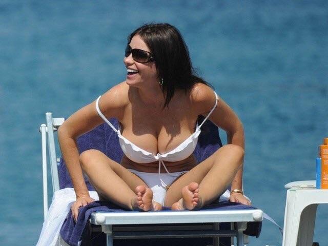 Sofia Vergara sexy gstring
