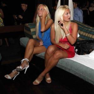Brooke Hogan upskirt