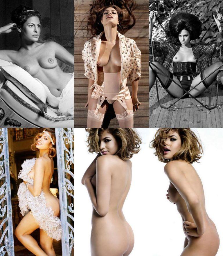 Eva Mendes  nackt